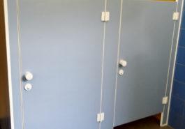 Ścianki systemowe WC