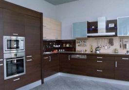 Ciemne fronty w kuchni zdjęcie realizacji