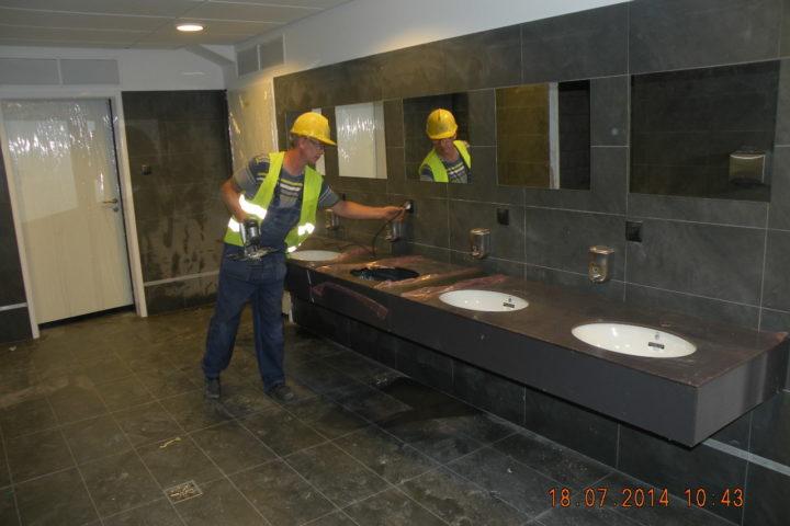 Zdjęcie prac wykończeniowych i remontowych