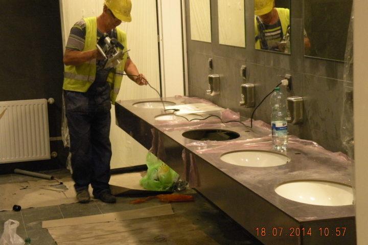 Prace wykończeniowe i remontowe