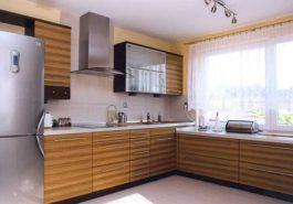 kuchnia w domu jednorodzinnym jasna