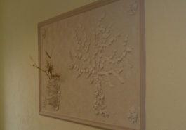 Dekoracja na ścianie, mozaika
