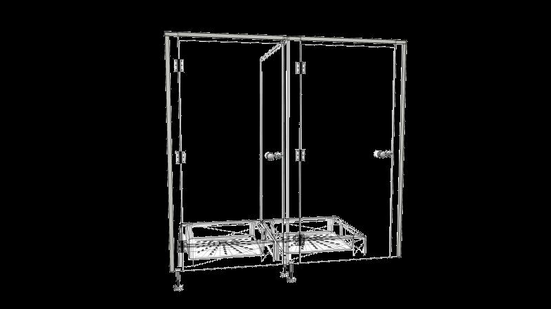SYSTEM HPL 3 (drzwi licowane z felcem)